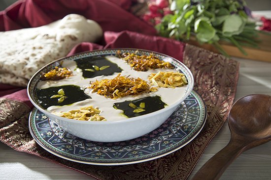 آش رشته، غذای نذری، آش نذری، ماه رمضان