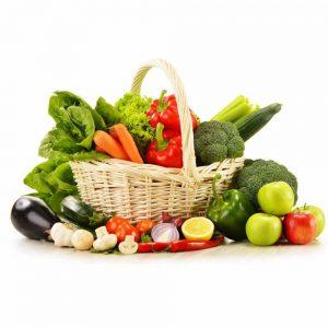 کلیه و سبزیجات