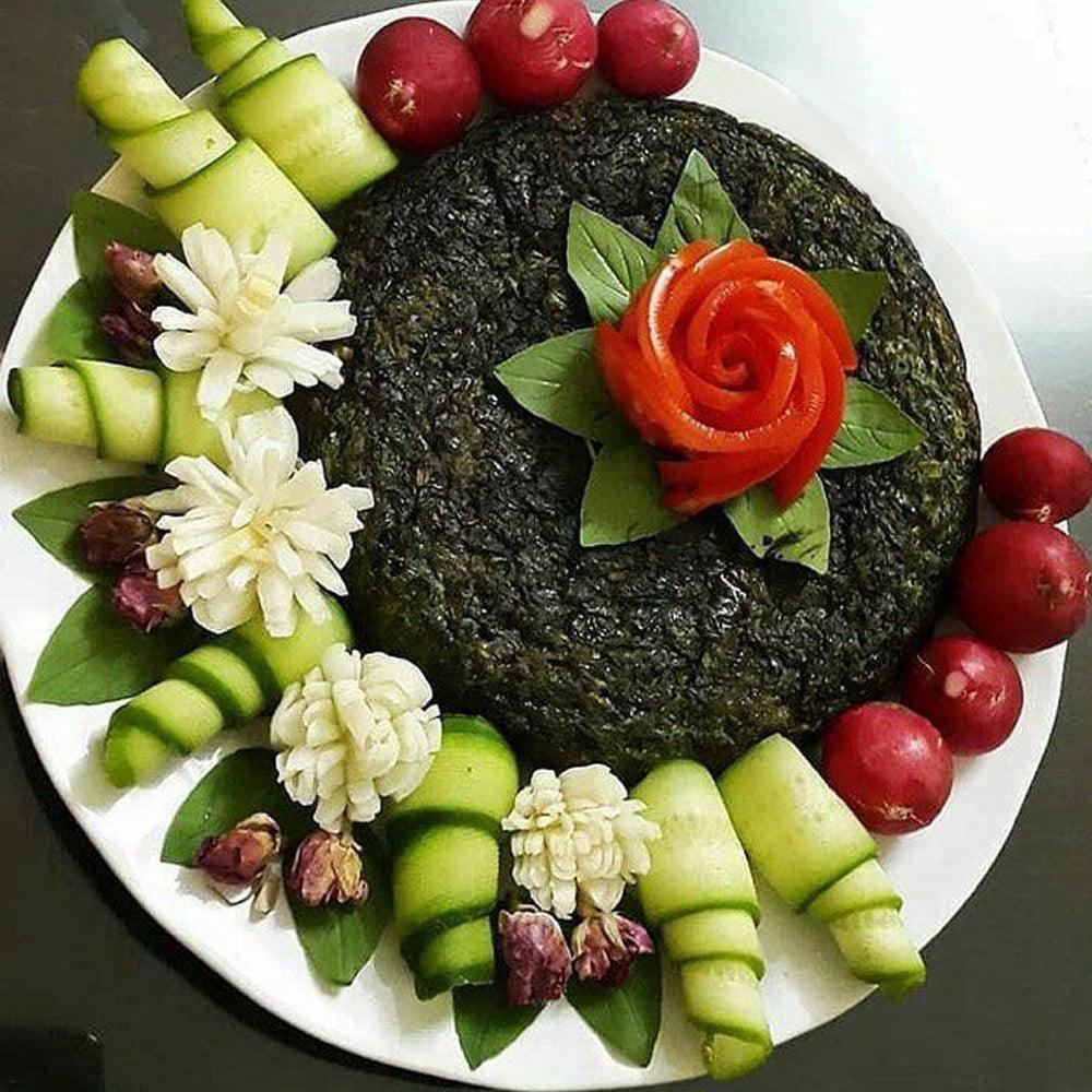 طرز تهیه کوکو سبزی یا فیلم