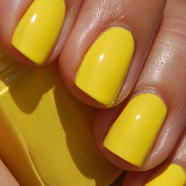 رنگ لاک زرد