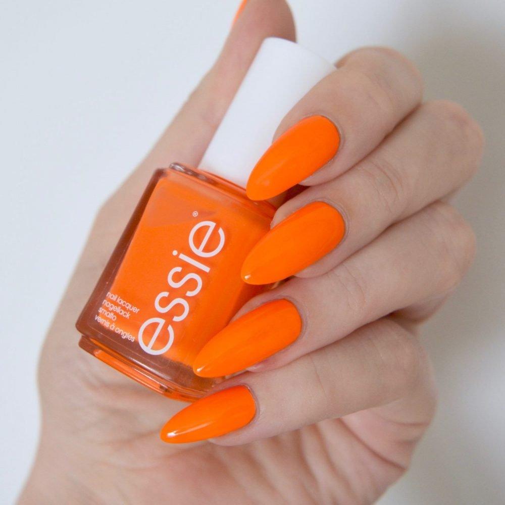 رنگ لاک نارنجی