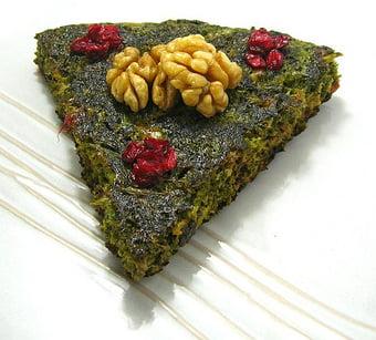 غذای راحت کوکو سبزی