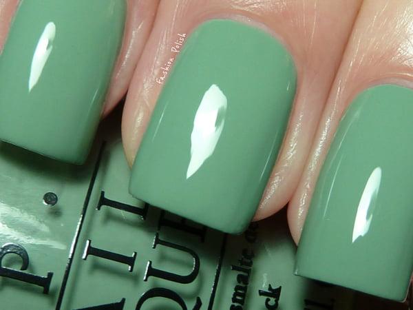 رنگ لاک سبز