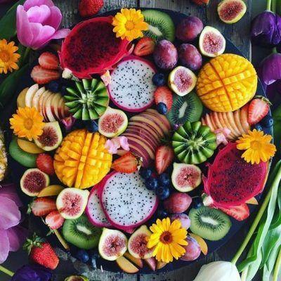 ۱۲ نکته کلیدی برای تهیه سالاد میوه خوشمزه- میوه ها به یک اندهزه رسیده باشند.