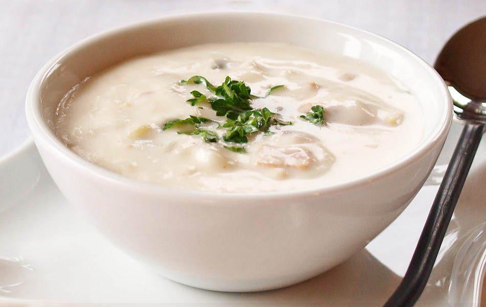 آموزش سوپ جو با شیر و خامه همراه با فیلم