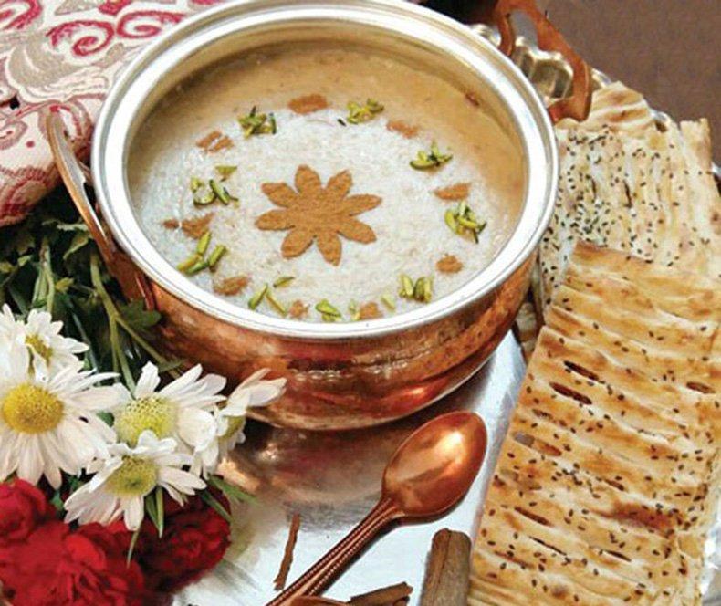 غذای افطاری مقوی و محبوب مثل حلیم