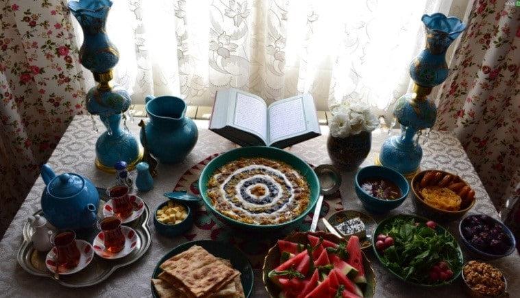 ماه رمضان و غذاهای افطاری، راهنمای غذاهای افطاری در ماه رمضان