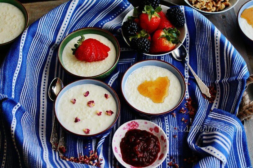 طرز تهیه شیر برنج افطاری ماه رمضان+ فیلم آموزشی