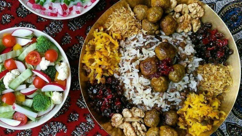 طرز تهیه و آموزش قدم به قدم عدس پلو مجلسی برای افطاری