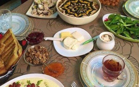 غذای افطاری
