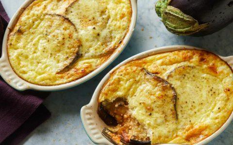 گراتن بادمجان با سیب زمینی غذای افطاری جدید ماه رمضان