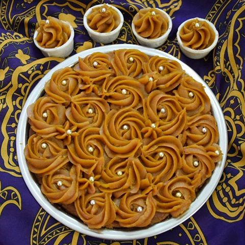 روش پخت حلواهای مجلسی ماه رمضان به همراه فیلم آموزشی