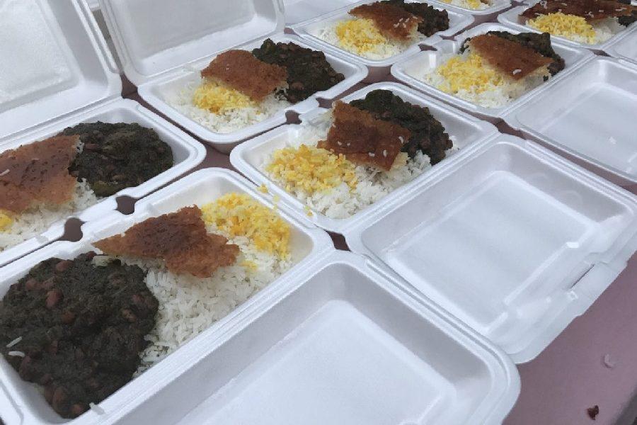 طرز تهیه قورمه سبزی نذری برای ۱۰۰ نفر