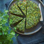 طرز تهیه کوکو سبزی ترد و خوشمزه خانگی