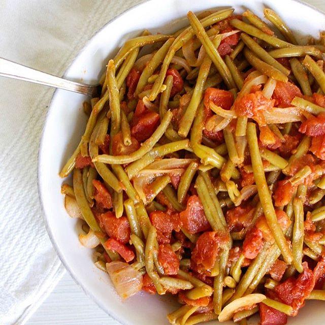طرز تهیه خوراک لوبیا سبز