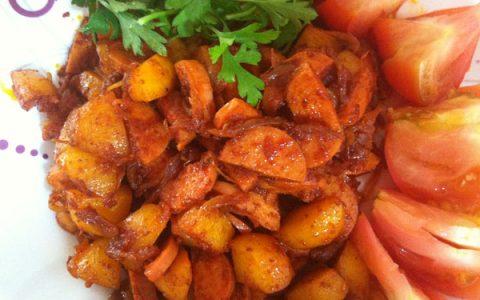 طرز تهیه سوسیس بندری تند به روش آبادانی ها