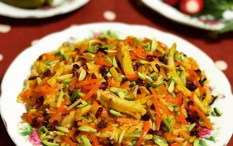 طرز تهیه هویج پلو