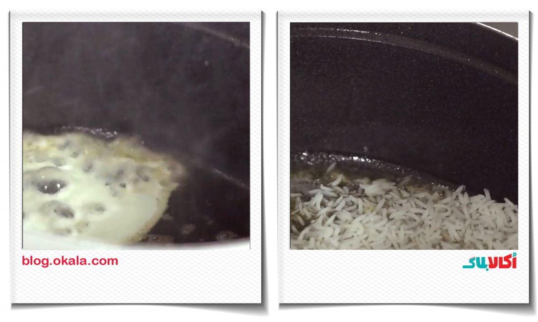 طرز تهیه مرصع پلو با ماهی