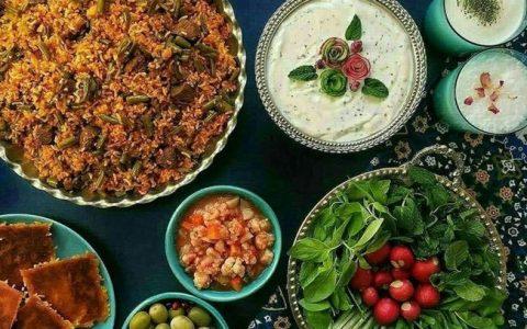 طرز تهیه لوبیا پلو با لوبیا سبز و زعفران