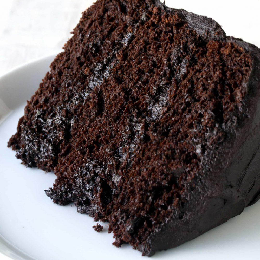 شکلات کیک، کیک اسفنجی