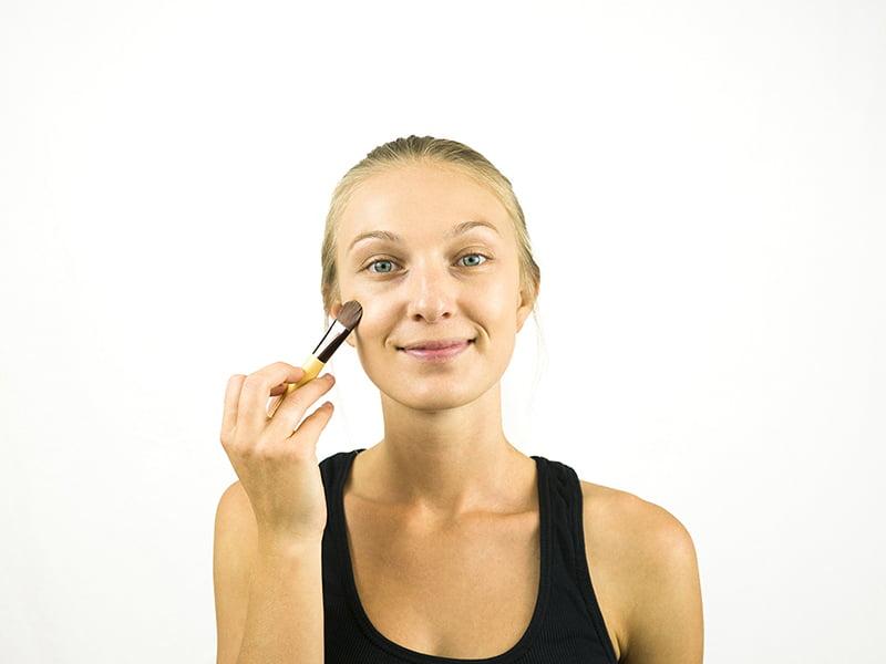 ,آرایش صورت ملایم مجلسی آموزش آرایش ملایم روزانه