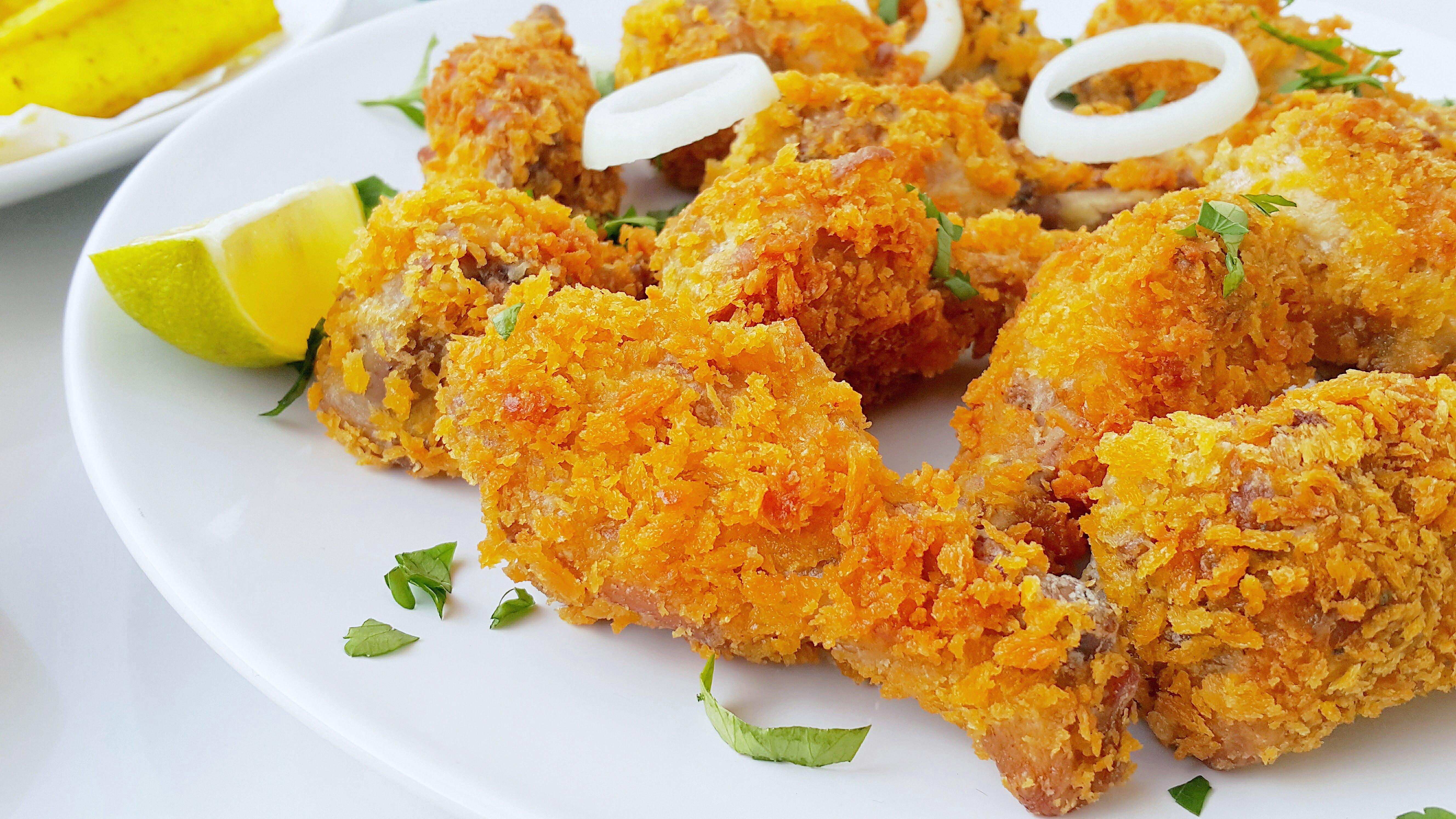 مرغ سوخاری خانگی