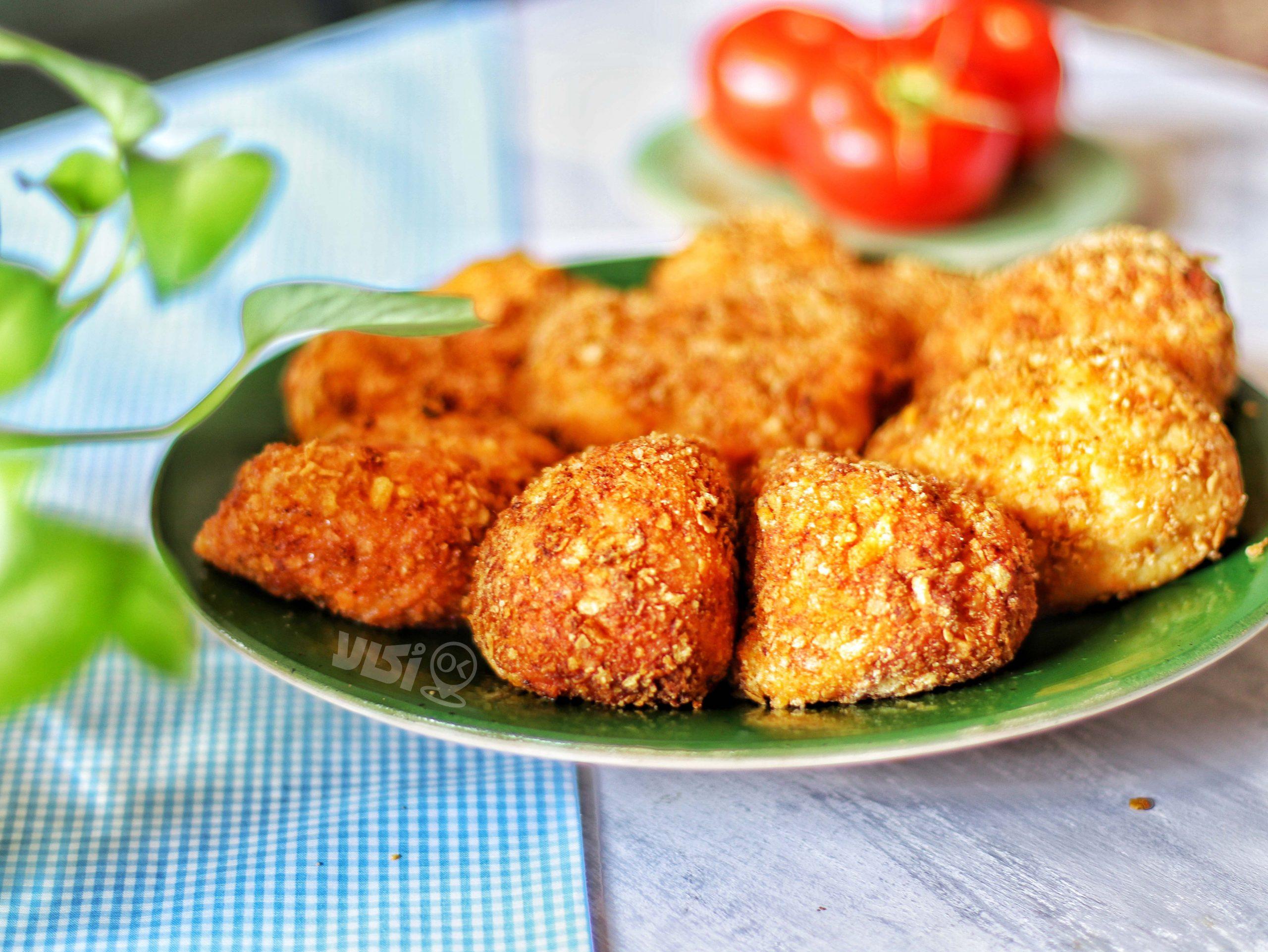 فینگرفود کوکو مرغ و سیب زمینی