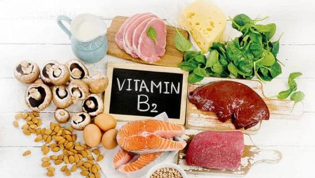 خواص ویتامین b2