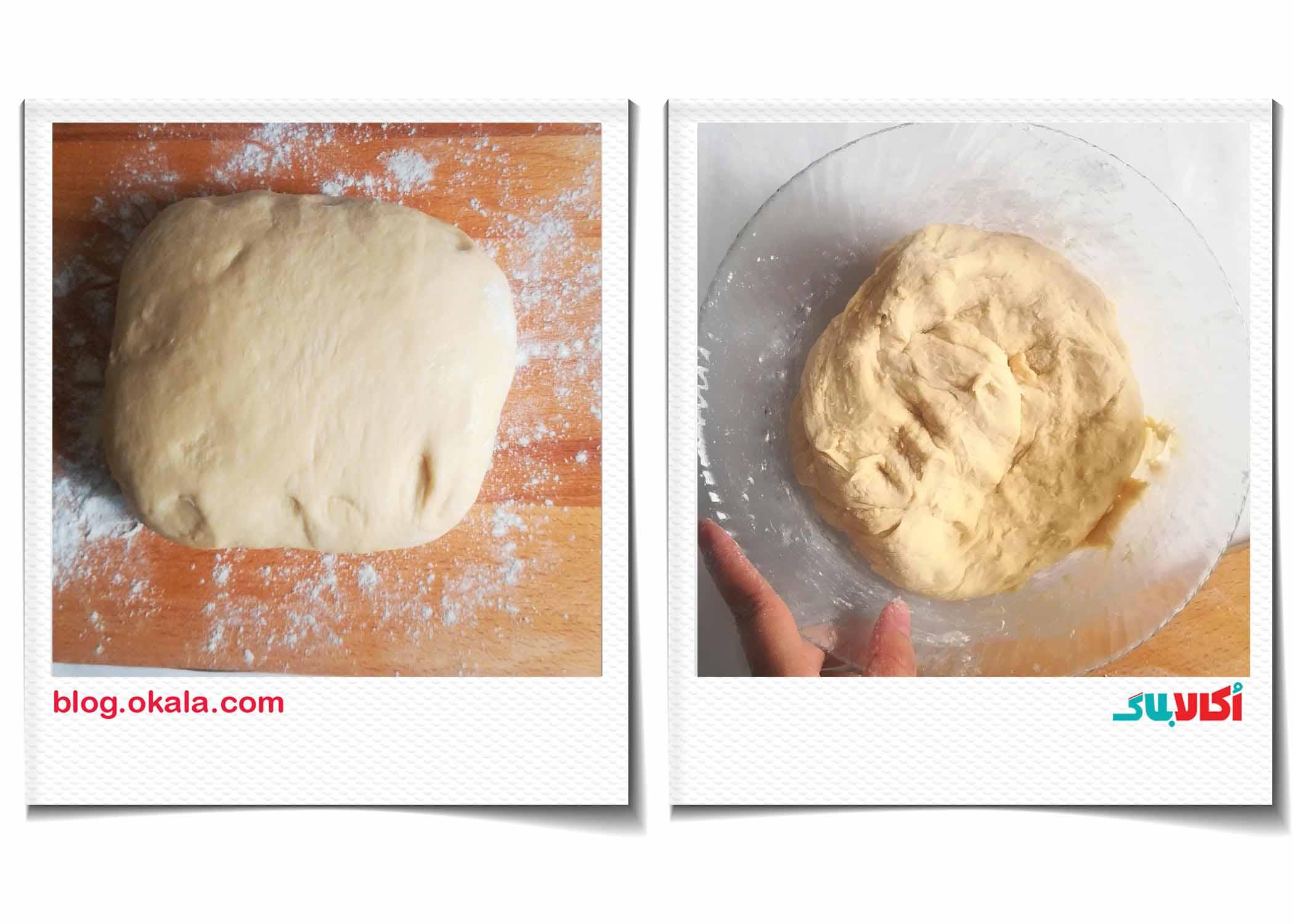 درست کردن خمیر