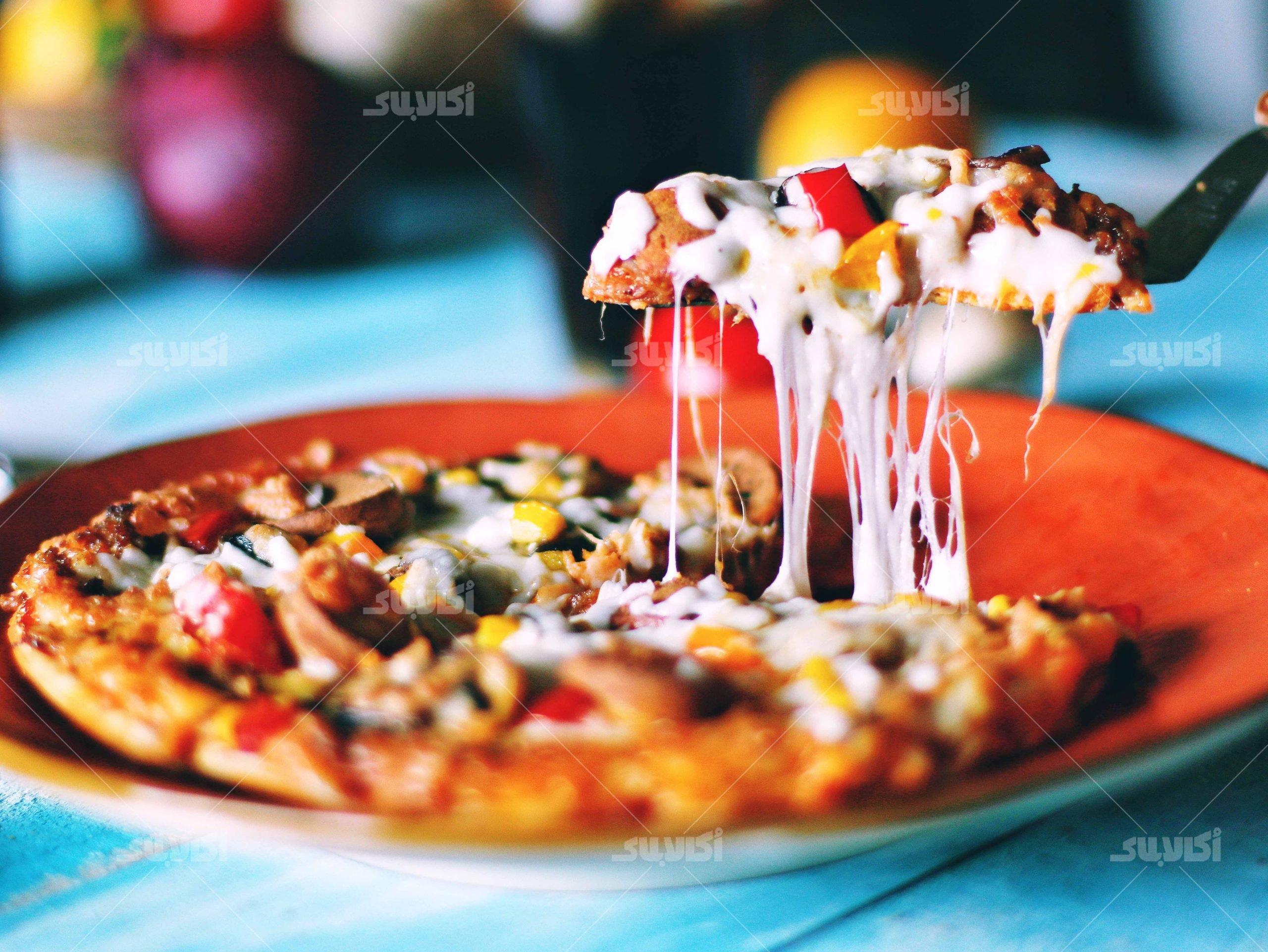 آموزش تصویری پیتزا خونگی