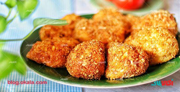کوکو مرغ سوخاری