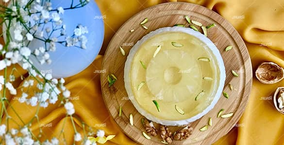 طرز تهیه کرم آناناس