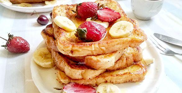 فرنچ تست خوشمزه و ساده برای صبحانه