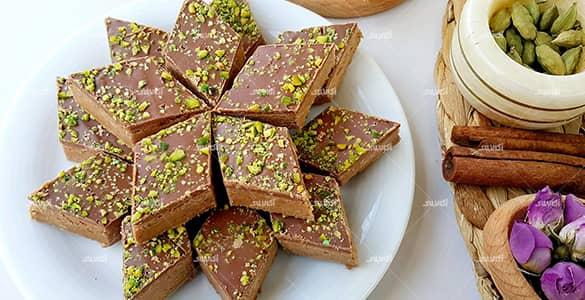 حلوا شکلاتی خوشمزه با روشی ساده
