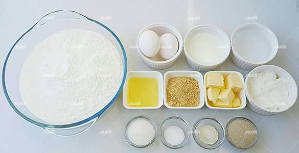 مواد لازم برای تهیه نان زنجبیلی