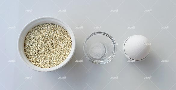 مواد لازم رومال نان زنجبیل